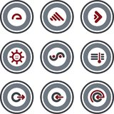 Elementi P. 10b di disegno illustrazione di stock