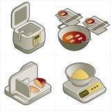 Elementi P. 14c di disegno illustrazione di stock