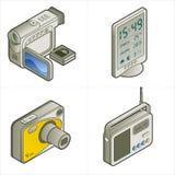 Elementi P. 15c di disegno Fotografie Stock