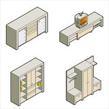 Elementi P. 16a di disegno illustrazione vettoriale