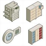 Elementi p.17d di disegno illustrazione di stock