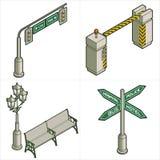Elementi P. 18d di disegno Fotografie Stock