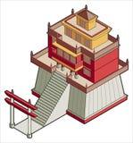 Elementi p.20d di disegno illustrazione di stock