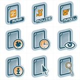 Elementi p.25c di disegno Immagine Stock