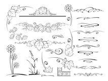 Elementi per il disegno royalty illustrazione gratis