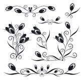 Elementi per il disegno, vettore royalty illustrazione gratis
