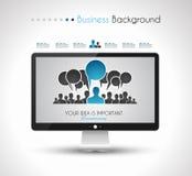 Elementi piani di progettazione di UI per gli elementi piani di progettazione di WUI per il web, Infographics Immagini Stock