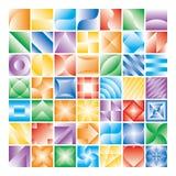 Elementi/reticolo di disegno Immagine Stock