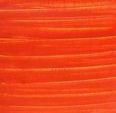 Elementi rossi verniciati di struttura della tela di canapa Fotografie Stock