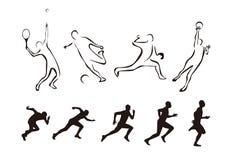 Elementi/sport di disegno Fotografia Stock