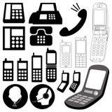 Elementi/telefono di disegno Fotografie Stock