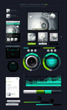 elementinfographics Arkivbilder