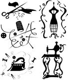 elementmode vektor illustrationer