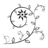 Elemento 1 dell'ornamento illustrazione vettoriale