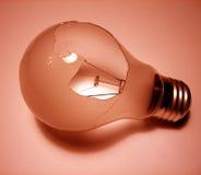 Elemento 5 della lampadina Fotografie Stock Libere da Diritti
