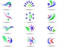 Elemento abstracto del diseño Imágenes de archivo libres de regalías