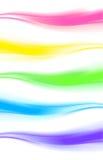 Elemento abstracto del diseño, bandera de la onda del web/jefe Fotos de archivo