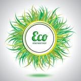 Elemento abstrato do círculo do eco. Fotos de Stock