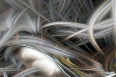 Elemento abstrato do fundo Teste padrão cinzento dinâmico das curvas Ci?ncia e conceito da tecnologia ilustração royalty free