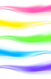 Elemento abstrato do projeto, bandeira da onda da Web/encabeçamento Fotos de Stock