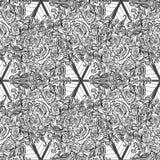 Elemento alchemico del segno del fuoco Triangolo che indica su con i chiarori rosa del sole e della ghirlanda Reticolo senza giun Fotografia Stock Libera da Diritti