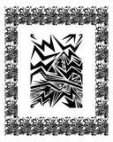 Elemento & bordo di disegno Fotografia Stock Libera da Diritti