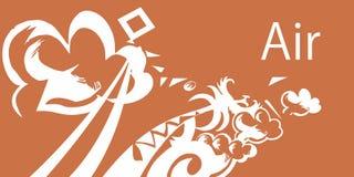 Elemento-ar cinco ilustração royalty free