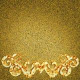 Elemento arrugginito dell'ornamento del metallo Immagini Stock Libere da Diritti