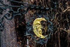 Elemento artistico di pezzo fucinato Fotografia Stock Libera da Diritti