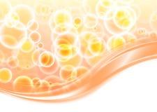 Elemento astratto di progettazione dell'onda di colore Immagine Stock Libera da Diritti