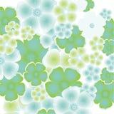 Elemento astratto floreale di disegno Fotografia Stock Libera da Diritti