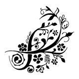 Elemento bonito do design floral Imagem de Stock