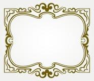 Elemento calligrafico di disegno illustrazione di stock