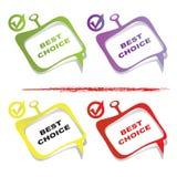 Elemento Choice di disegno Immagini Stock Libere da Diritti
