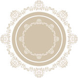 Elemento circular decorativo Fotos de Stock
