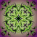 Elemento circular del diseño Imagenes de archivo