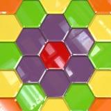 Elemento coloreado del diseño Fotografía de archivo