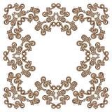 Elemento d'annata di progettazione di Brown Royalty Illustrazione gratis