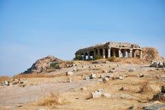 Elemento da arquitetura antiga, Hampi Fotografia de Stock Royalty Free