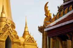 Elemento da arquitetura em Royal Palace Banguecoque Fotos de Stock Royalty Free