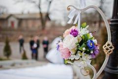 Elemento da decoração do casamento Imagens de Stock Royalty Free