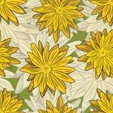 Elemento da decoração Estilo floral Fotografia de Stock
