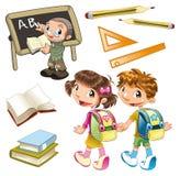 Elemento da escola ilustração royalty free