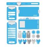 Elemento da interface de utilizador da Web Imagens de Stock Royalty Free
