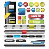 Elemento da interface de utilizador da Web Vetor Fotos de Stock Royalty Free