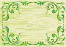 Elemento da planta e fundo da textura Imagem de Stock
