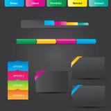 Elemento da Web Imagem de Stock
