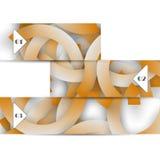 Elemento da Web do vetor para seu desig Foto de Stock