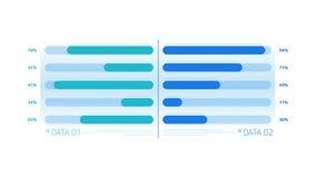 Elemento de Infographic - carta de barra