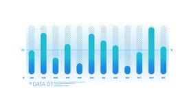 Elemento de Infographic - carta de columna